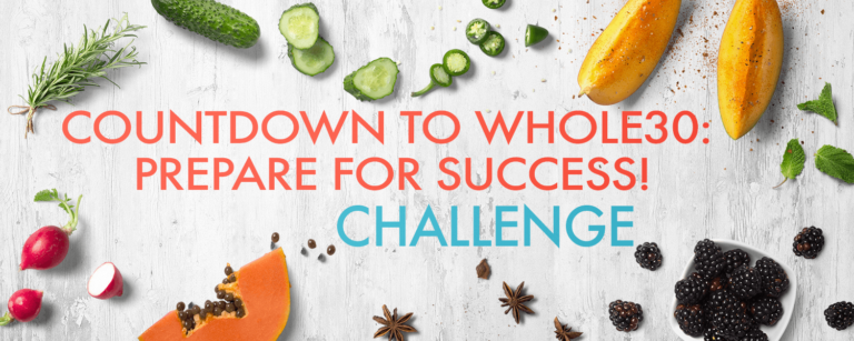5-Day FREE Countdown to Whole30: Prepare for Success! Challenge - Whole30CoachBrenda