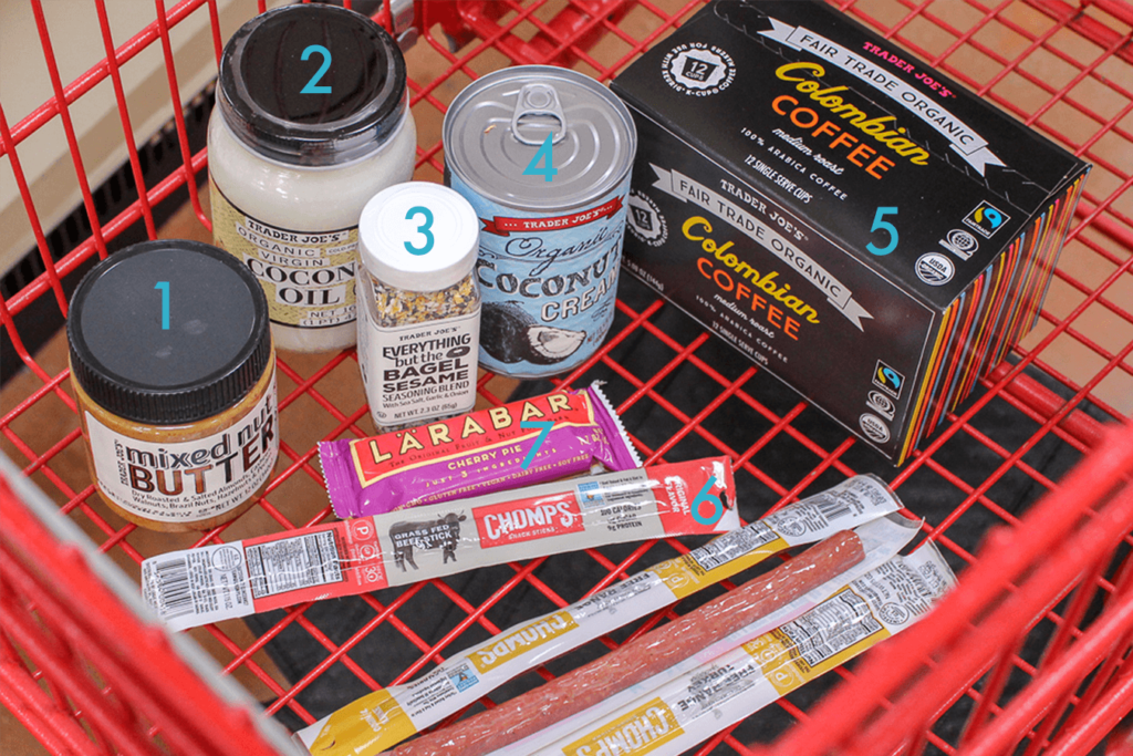 Whole30 Trader Joes Shopping List Pantry Items